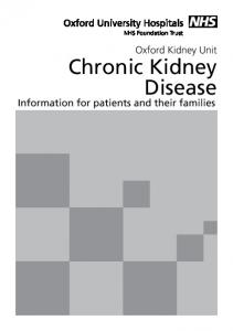 Chronic Kidney Disease