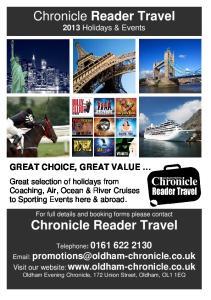 Chronicle Reader Travel