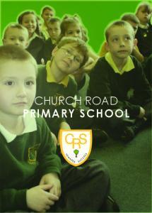 CHURCH ROAD PRIMARY SCHOOL