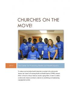 CHURCHES ON THE MOVE!