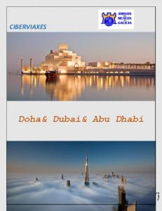 CIBERVIAXES Doha& Dubai& Abu Dhabi