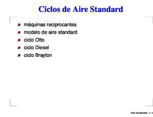 Ciclos de Aire Standard