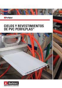 CIELOS Y REVESTIMIENTOS DE PVC PERFILPLAS