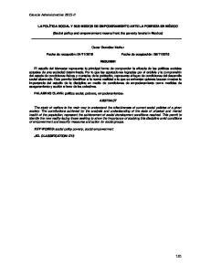 Ciencia Administrativa 2015-II