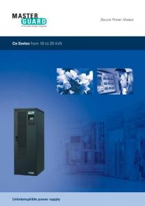 CIII Series from 10 to 20 kva