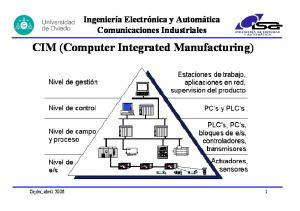 CIM (Computer Integrated Manufacturing)