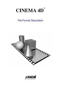 CINEMA 4D. File Format Description