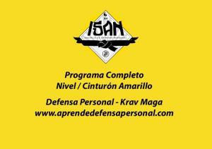Cinturón Amarillo Defensa Personal - Krav Maga