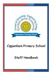 Cippenham Primary School. Staff Handbook