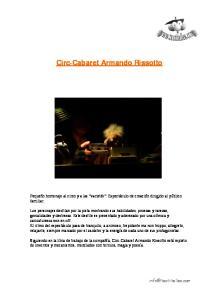Circ-Cabaret Armando Rissotto