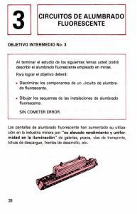 CIRCUITOS DE ALUMBRADO FLUORESCENTE