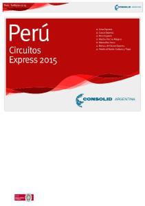 Circuitos Express 2015