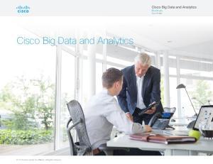 Cisco Big Data and Analytics