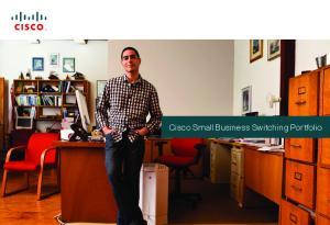 Cisco Small Business Switching Portfolio