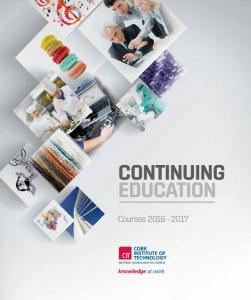 CIT Continuing Education Handbook Courses