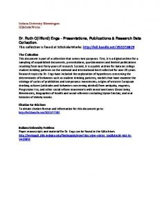 Citation for this item To obtain citation format and information for this document go to: