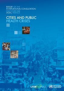 Cities and public health crises