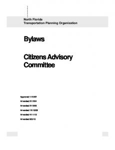 Citizens Advisory Committee