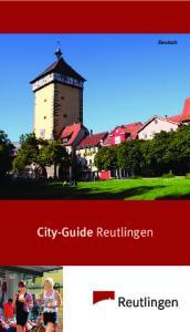 City-Guide Reutlingen. Deutsch