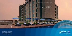 City Hotel. Radisson Blu Hotel New Delhi Paschim Vihar, India