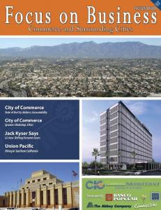 City of Commerce State of the City Address: Accountability