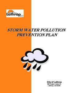 City of Lathrop 390 Towne Center Dr. Lathrop, CA 95330