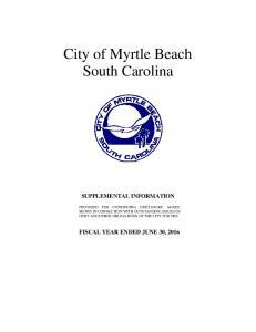 City of Myrtle Beach South Carolina