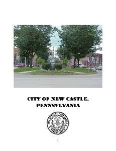 CITY OF NEW CASTLE, PENNSYLVANIA