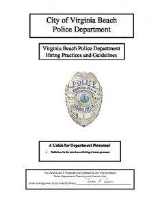 City of Virginia Beach Police Department