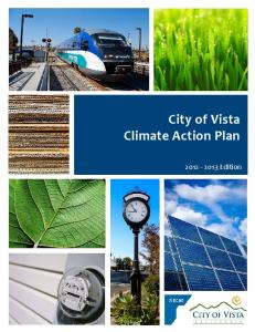 City of Vista Climate Action Plan Edition