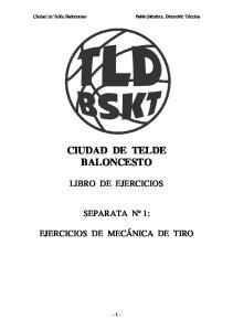 CIUDAD DE TELDE BALONCESTO