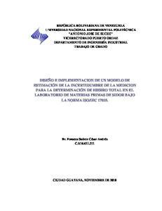 CIUDAD GUAYANA, NOVIEMBRE DE