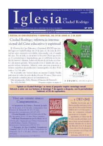 Ciudad Rodrigo: referencia internacional del Cine educativo y espiritual
