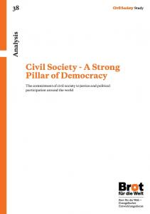 Civil Society - A Strong Pillar of Democracy