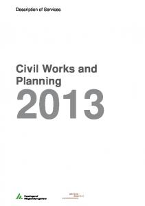 Civil Works and Planning