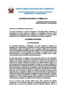 CJ-116 ACUERDO PLENARIO
