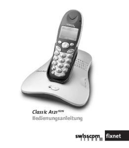Classic A121 ISDN Bedienungsanleitung