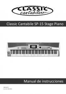 Classic Cantabile SP-15 Stage Piano