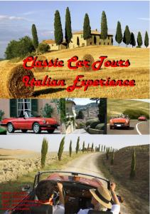 Classic Car Tours Experience Italy