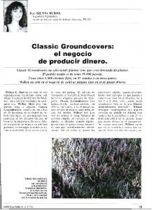 Classic Groundcovers: el negocio producir dinero