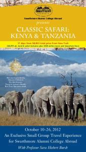 classic safari: KENYA & TANZANIA