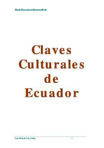 Claves Culturales de Ecuador