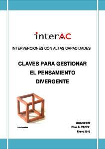 CLAVES PARA GESTIONAR EL PENSAMIENTO DIVERGENTE