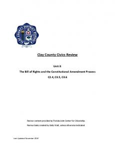 Clay County Civics Review