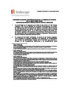 CLC-INDECOPI)