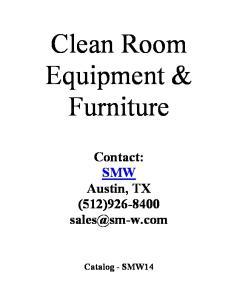 Clean Room Equipment & Furniture