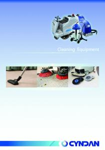 CLEANING EQUIPMENT Mops. Burnishers. Sweepers. Road Sweepers. Scrubbers. Vacuum Cleaners. Carpet Cleaners. Other Equipment. Parts & Accessories