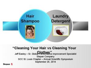Cleaning Your Hair vs Cleaning Your Clothes
