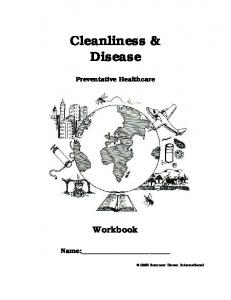 Cleanliness & Disease