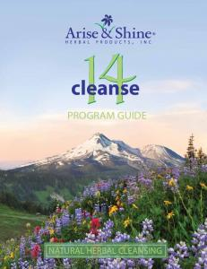 cleanse PROGRAM GUIDE NATURAL HERBAL CLEANSING